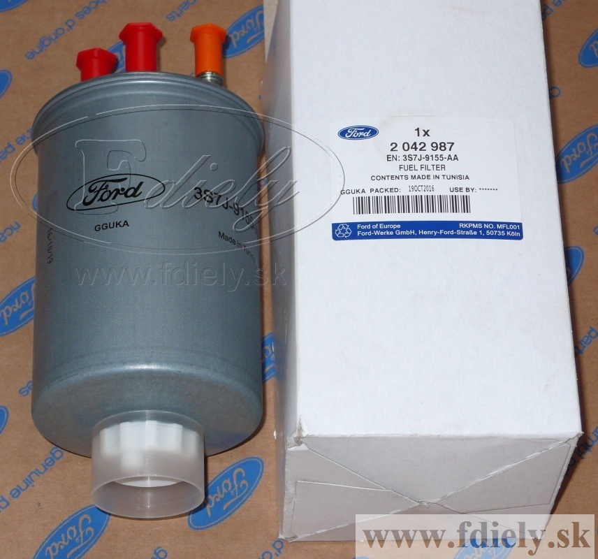 Filter paliva, TDCi Fo1, Mo3, Connnect - FORD